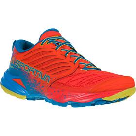 La Sportiva Akasha Hardloopschoenen Heren, rood/blauw